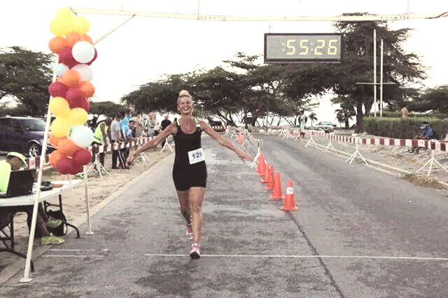 Esther Verschoor Maaskant deelneemsters 10km EnzaZadenVooroeverloop