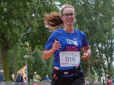 Jolanda Rozier deelneemster EnzaZaden Vooroeverloop 2017